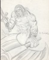 Conan Pinup (1977) Comic Art