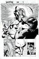 Wolverine #144 p 5 SPLASH (1999) Comic Art