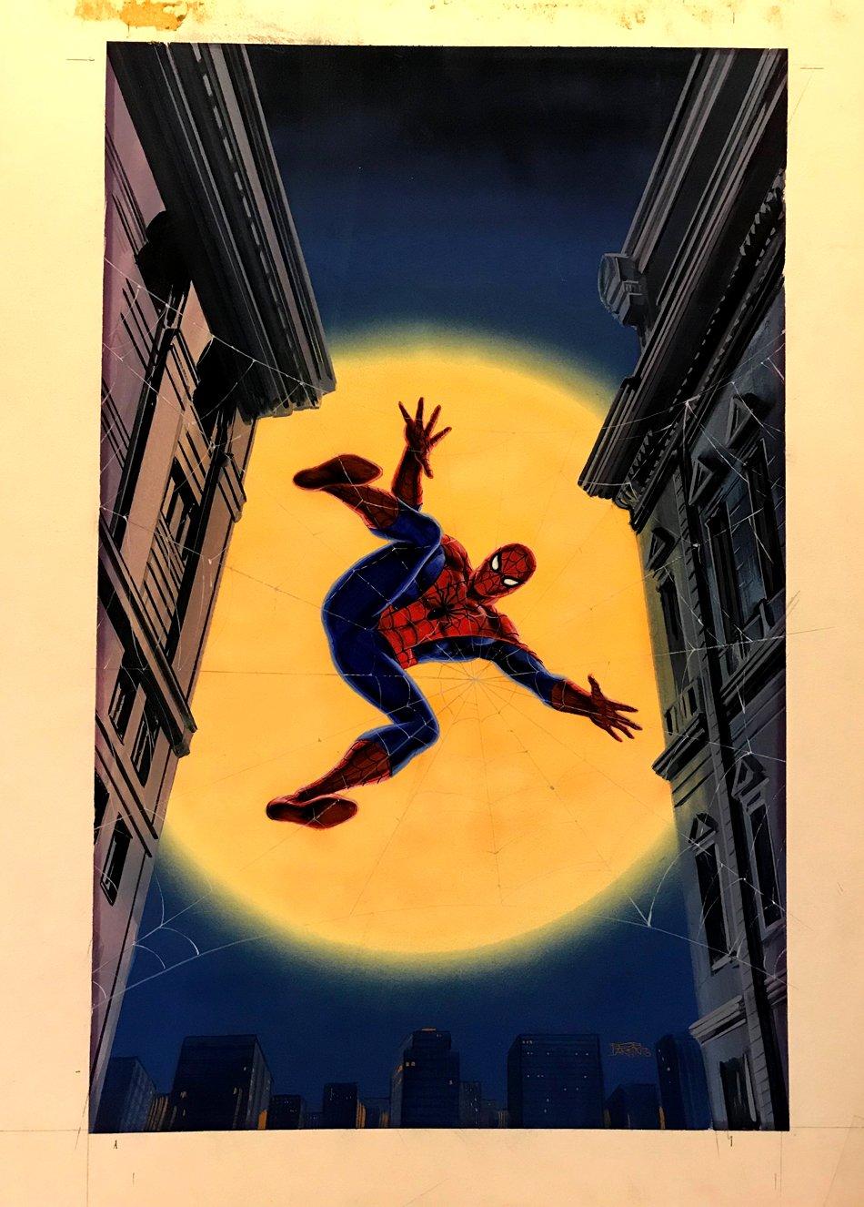 Spider-Man, Mayhem In Manhattan (Spider-Man's VERY FIRST NOVEL & COVER PAINTING) 1978