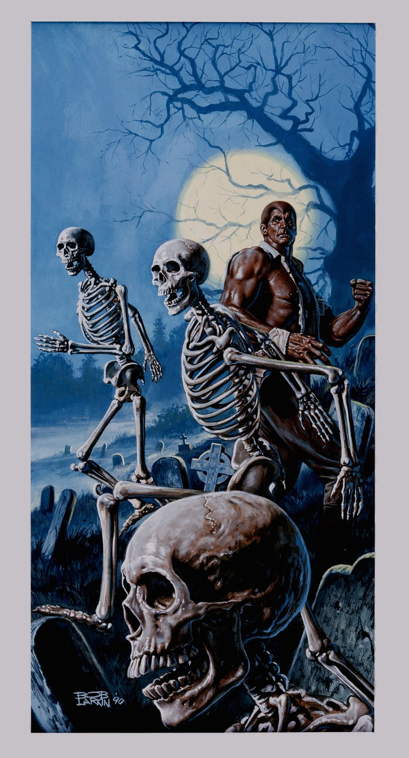 Doc Savage 'The Running Skeletons' Published Doc Savage - Book #128! (1990)