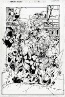 Heroes Reborn: The Return #1 p 15 SPLASH (1997) Comic Art