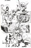 Lady Deadpool Issue 1 Page 16 Comic Art