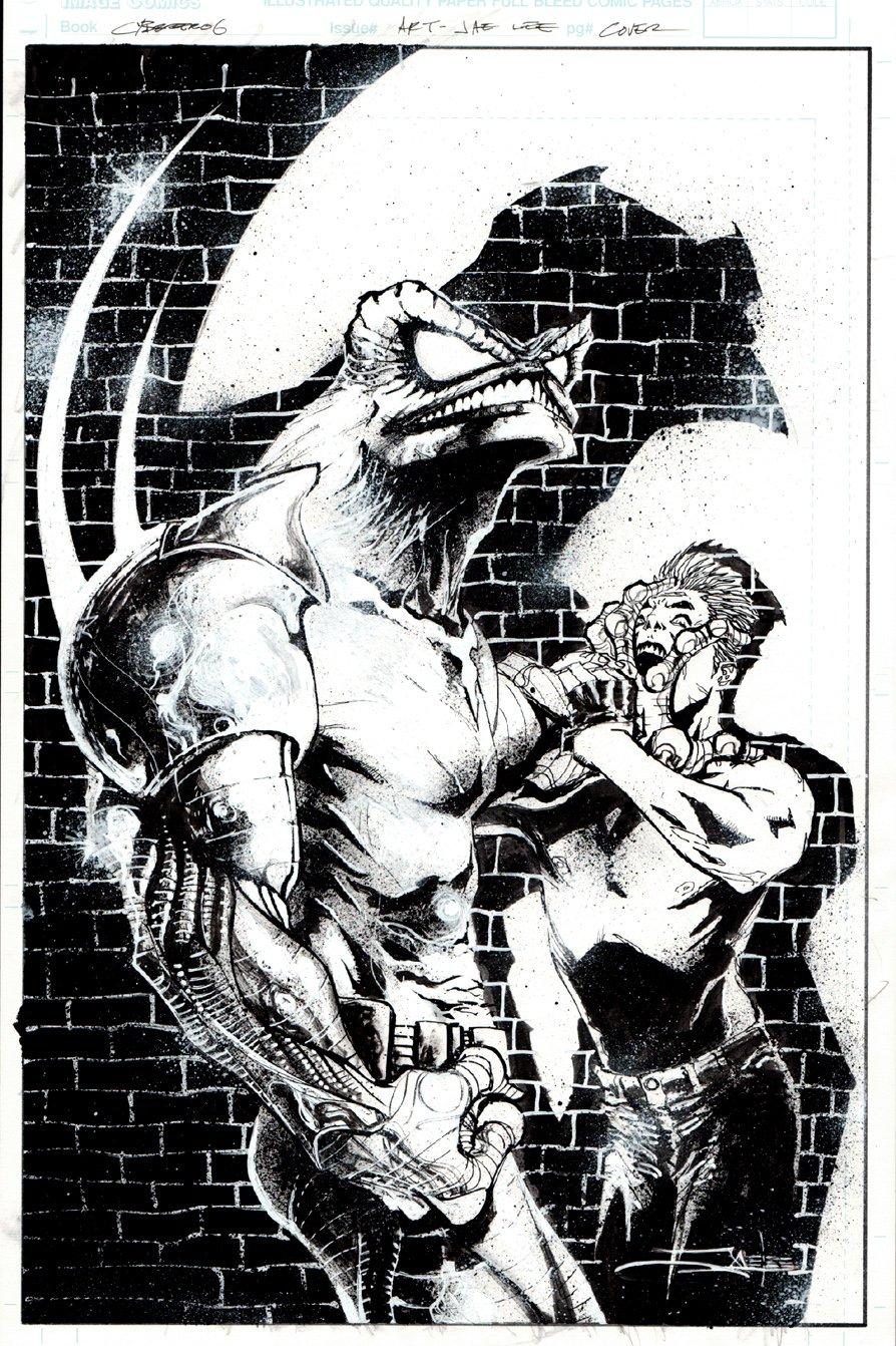 Cyberfrog #4 Cover (1996)
