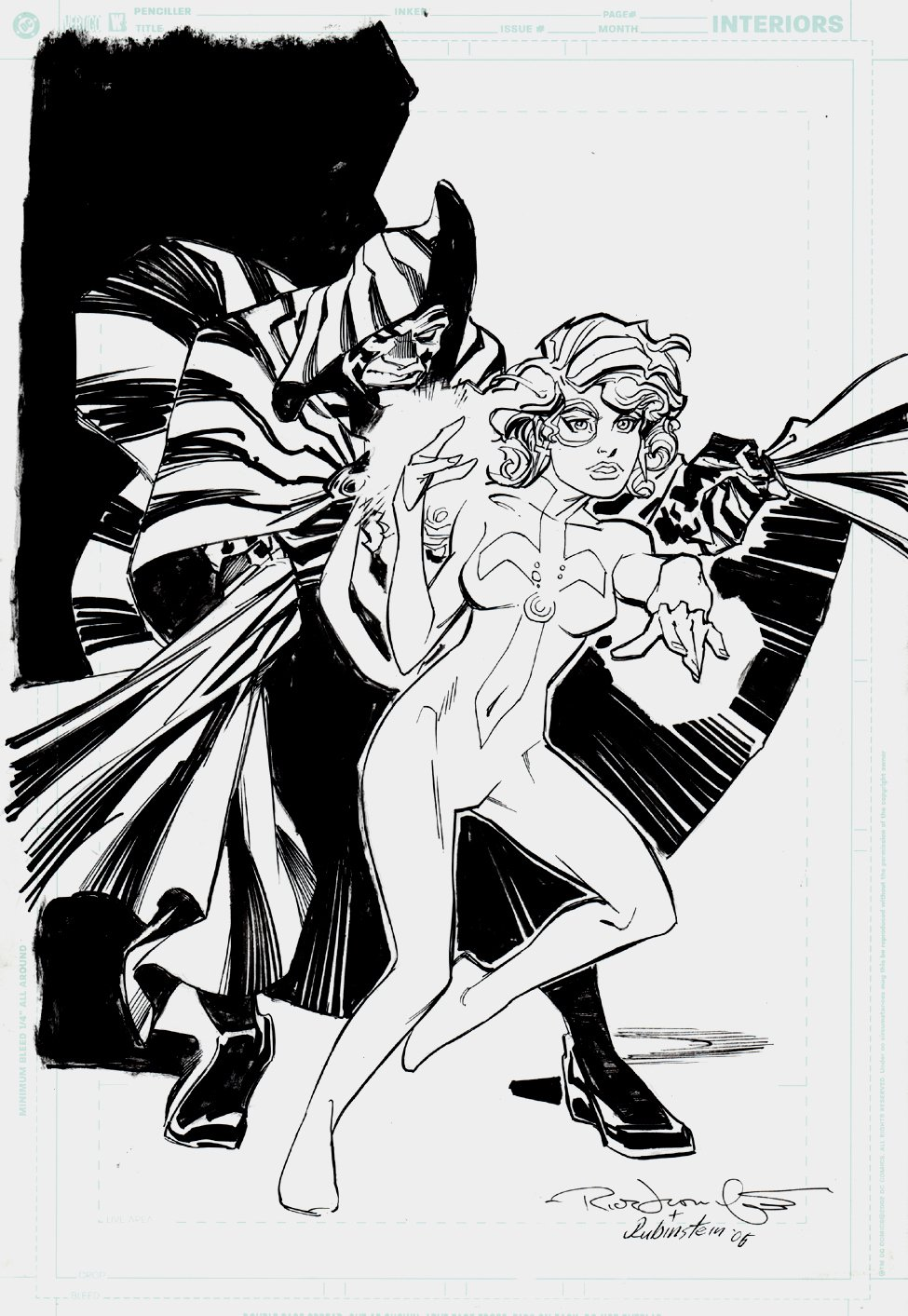 Cloak And Dagger Pinup