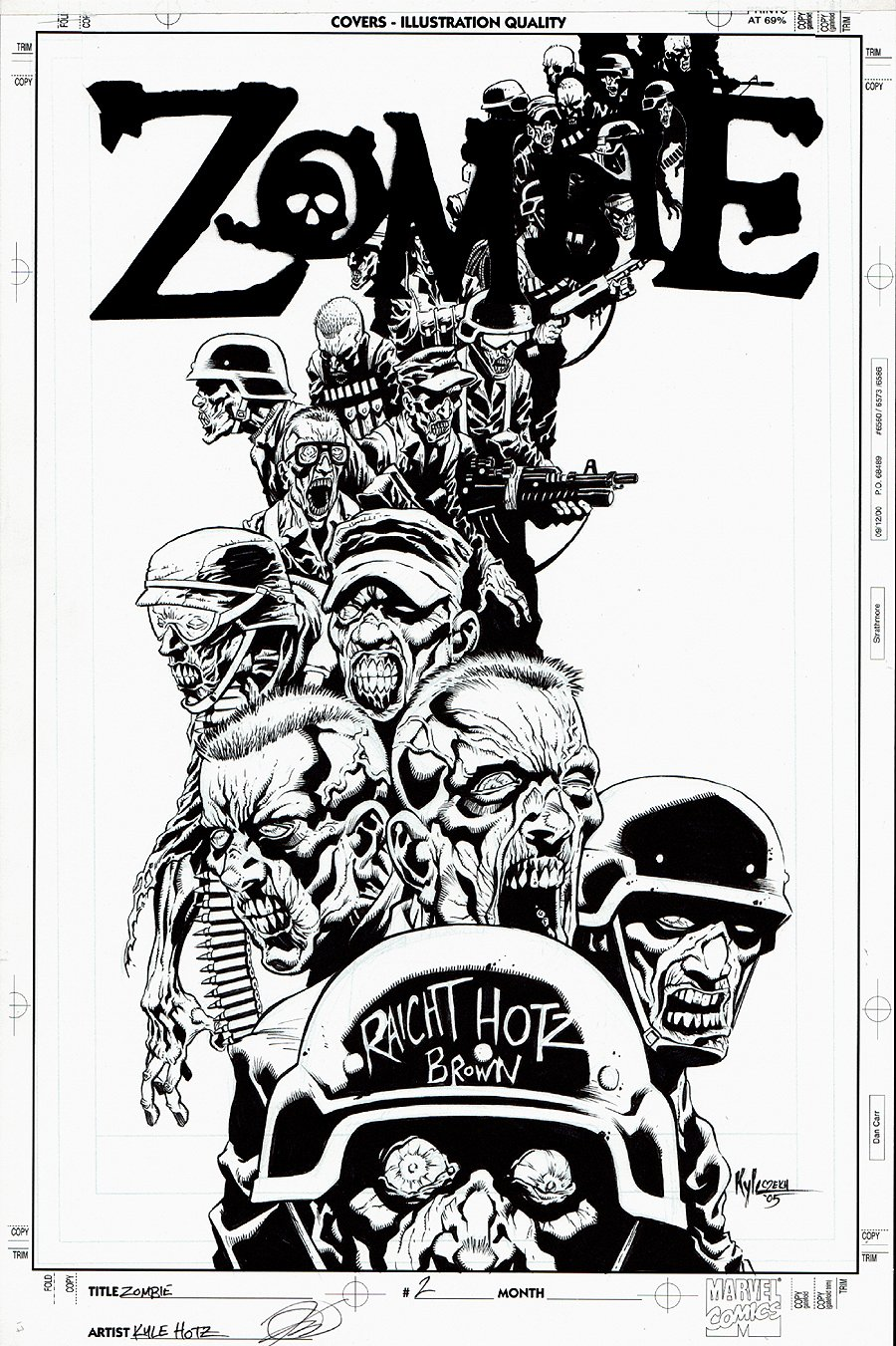 Zombie #1 Cover (2005)