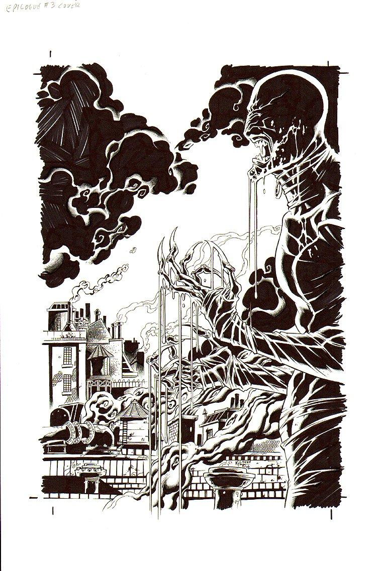 Epilogue #3 Cover (2008)