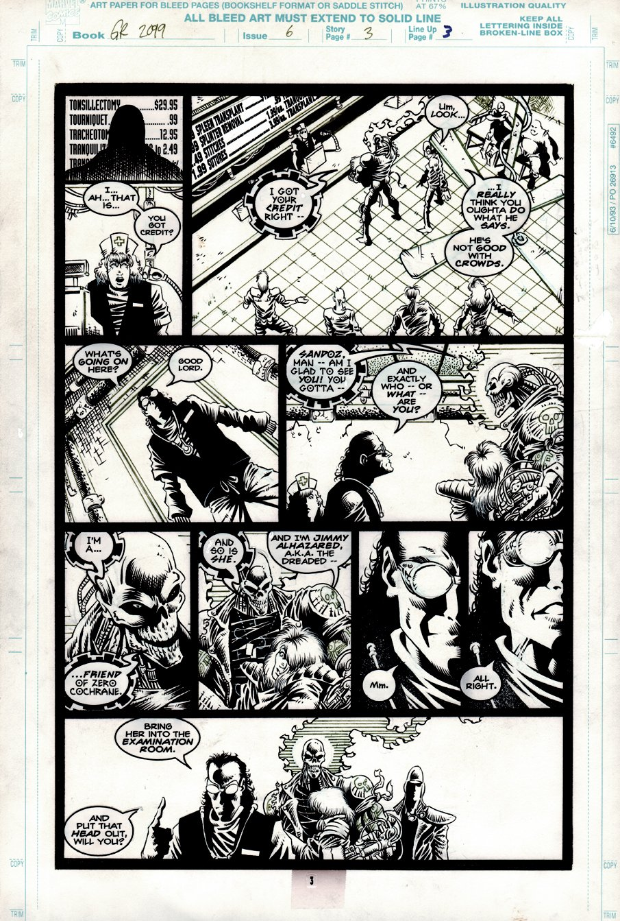 Ghost Rider 2099 #6 p 3 (1994)