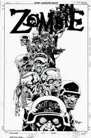 Zombie #1 Cover (2005) Comic Art