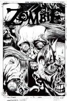 Zombie #2 Cover (2006) Comic Art