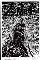 Zombie #3 Cover (2006) Comic Art