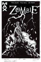 Zombie #4 Cover (2006) Comic Art