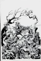 Laserblast #1 Cover (2015) Comic Art