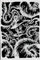 Bottomfeeders #1 Back Cover (2017) Comic Art