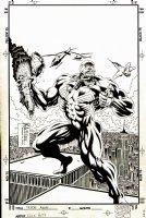 Venom Annual Issue 1 Page COVER (1996)  Comic Art