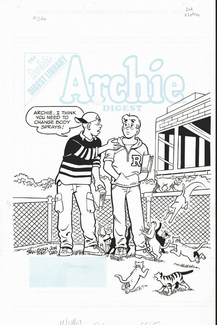 Archie Digest #244 Cover