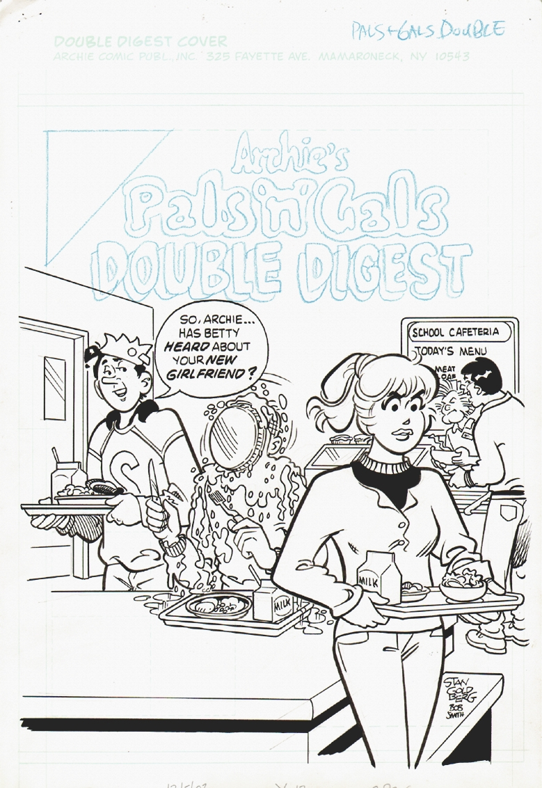 Archie's Pal's n Gal's Double Digest #84 Cover