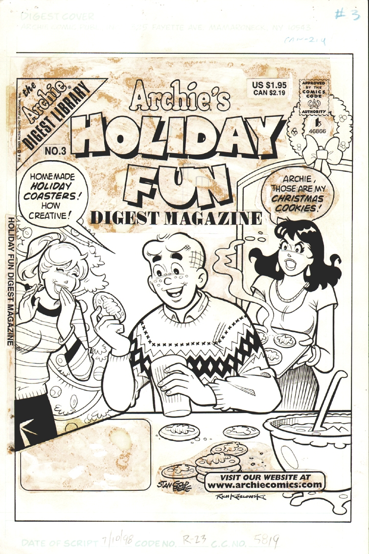 Archie's Holiday Fun Digest #3 Cover