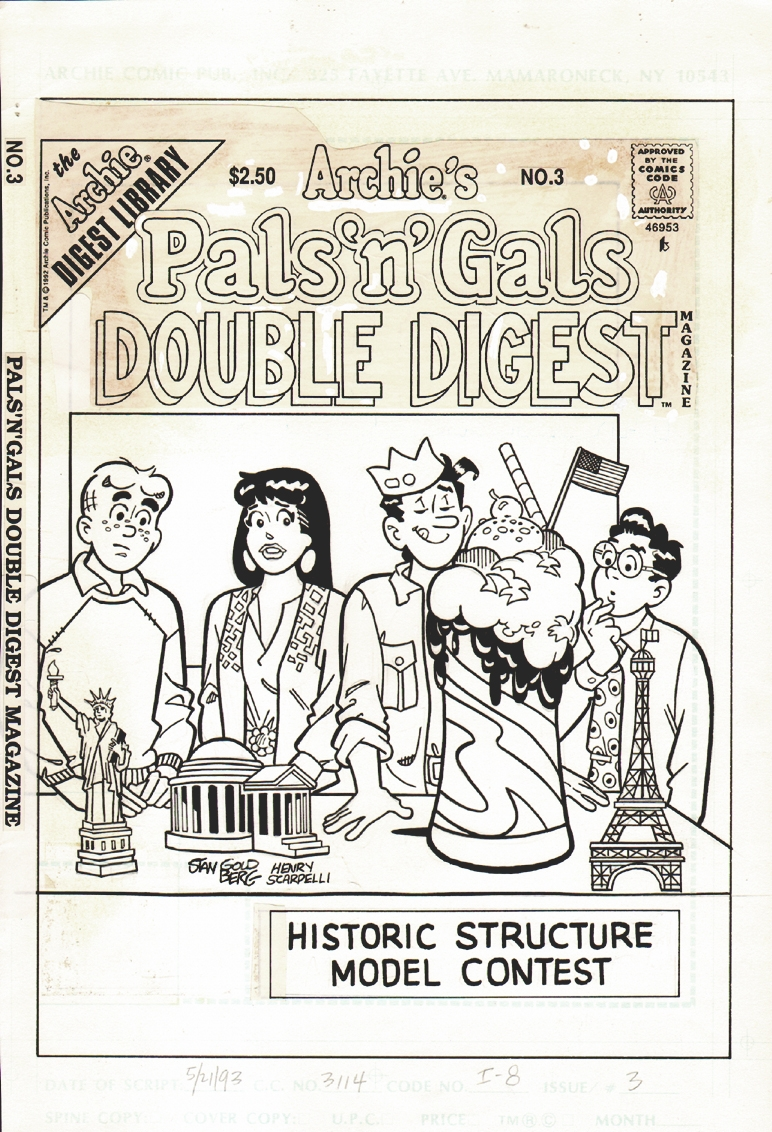 Archie's Pals n Gals Double Digest  #3 Cover