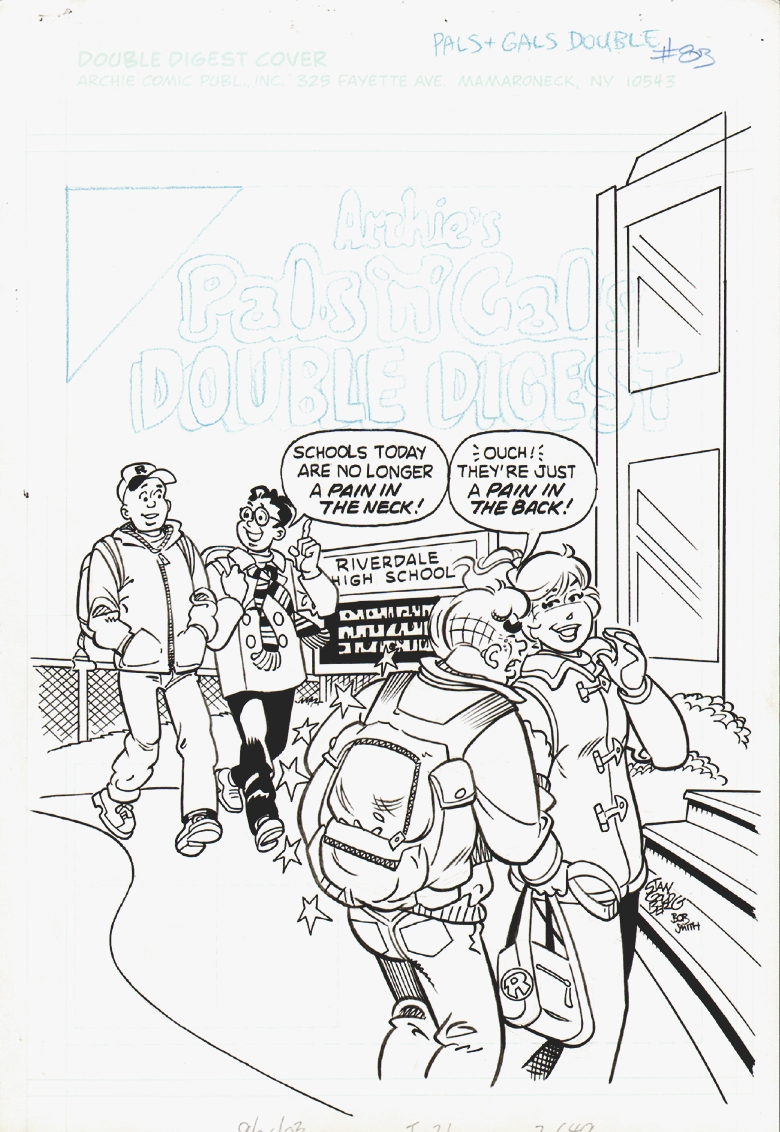 Archie's Pals n Gals Double Digest  #83 Cover