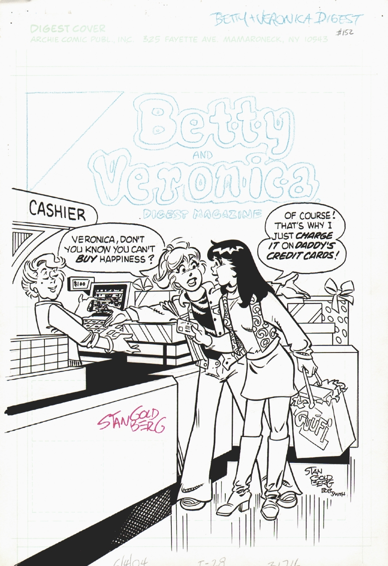 Betty and Veronica Digest #152 Cover