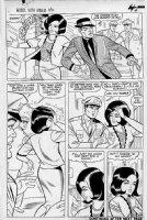 Millie The Model #40 p 4 (BILL EVERETT INKS) Large Art 1965 Comic Art