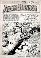 Mystery in Space #100 p 1 SPLASH (1964) Comic Art