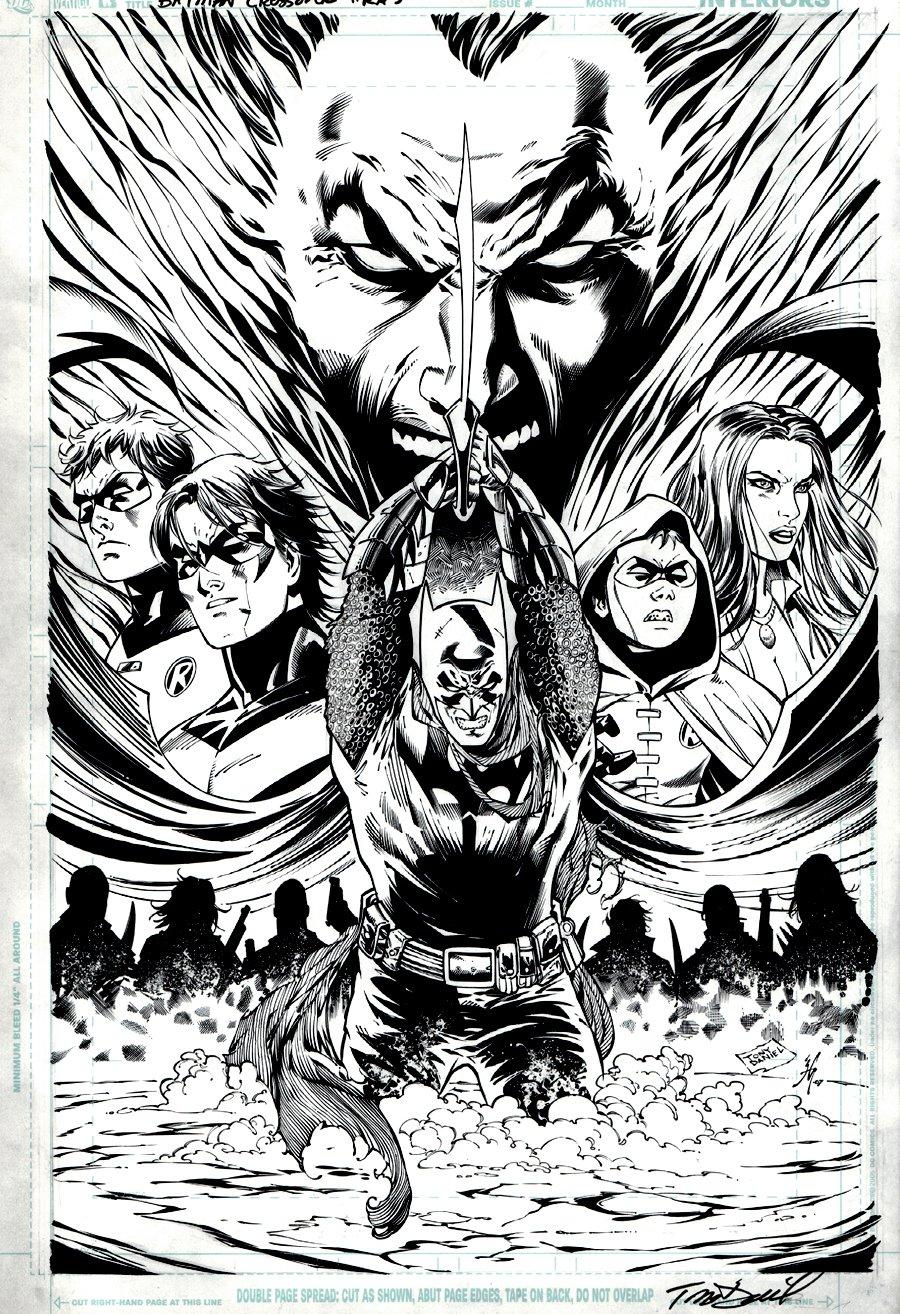 Batman: 'Resurrection of Ra's Al Ghul' Poster Art (2007)