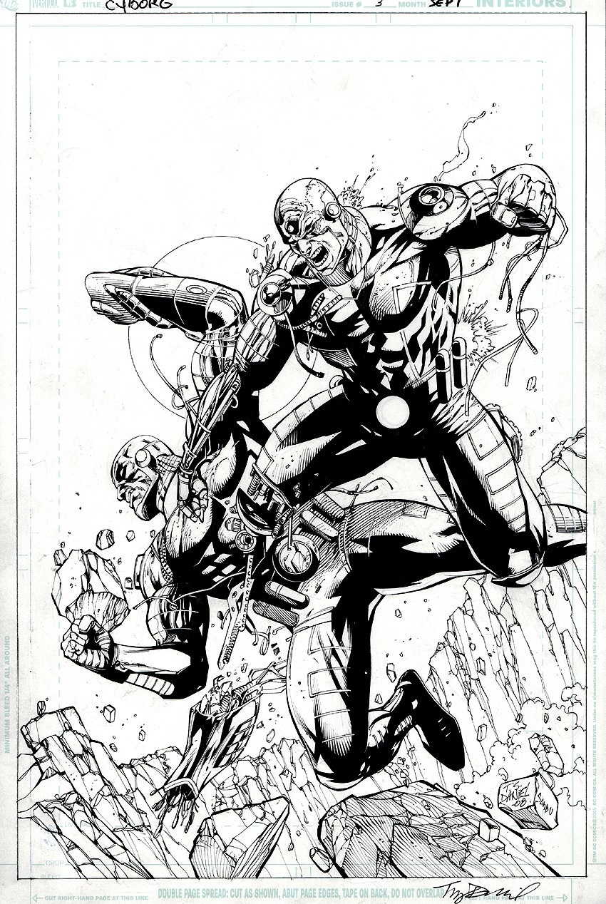 Cyborg #3 Cover (2008)