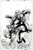 Cyborg #3 Cover (2008) Comic Art