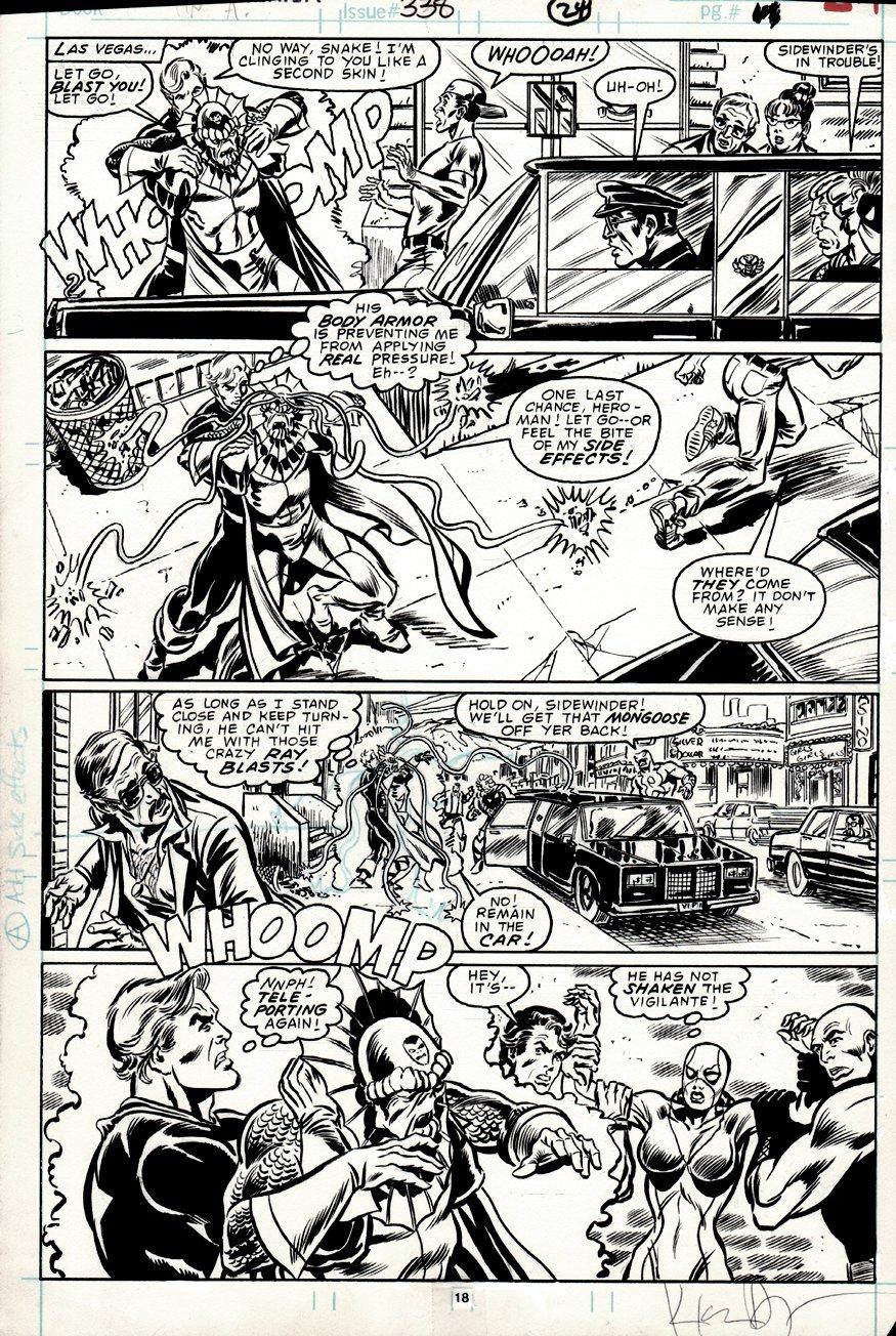 Captain America #338 p 18 (1987)