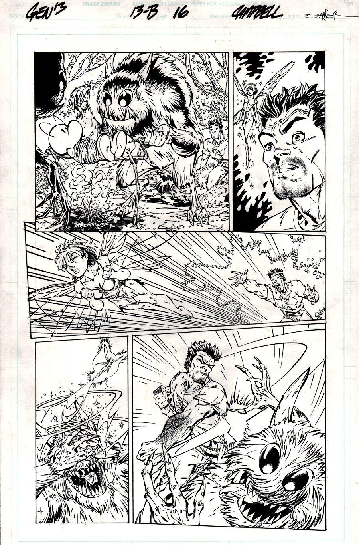Gen 13 #13b p 16 (BONE APPEARANCE!) 1996