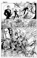 Danger Girl #1 p 17 (Half Splash) 1998 Comic Art