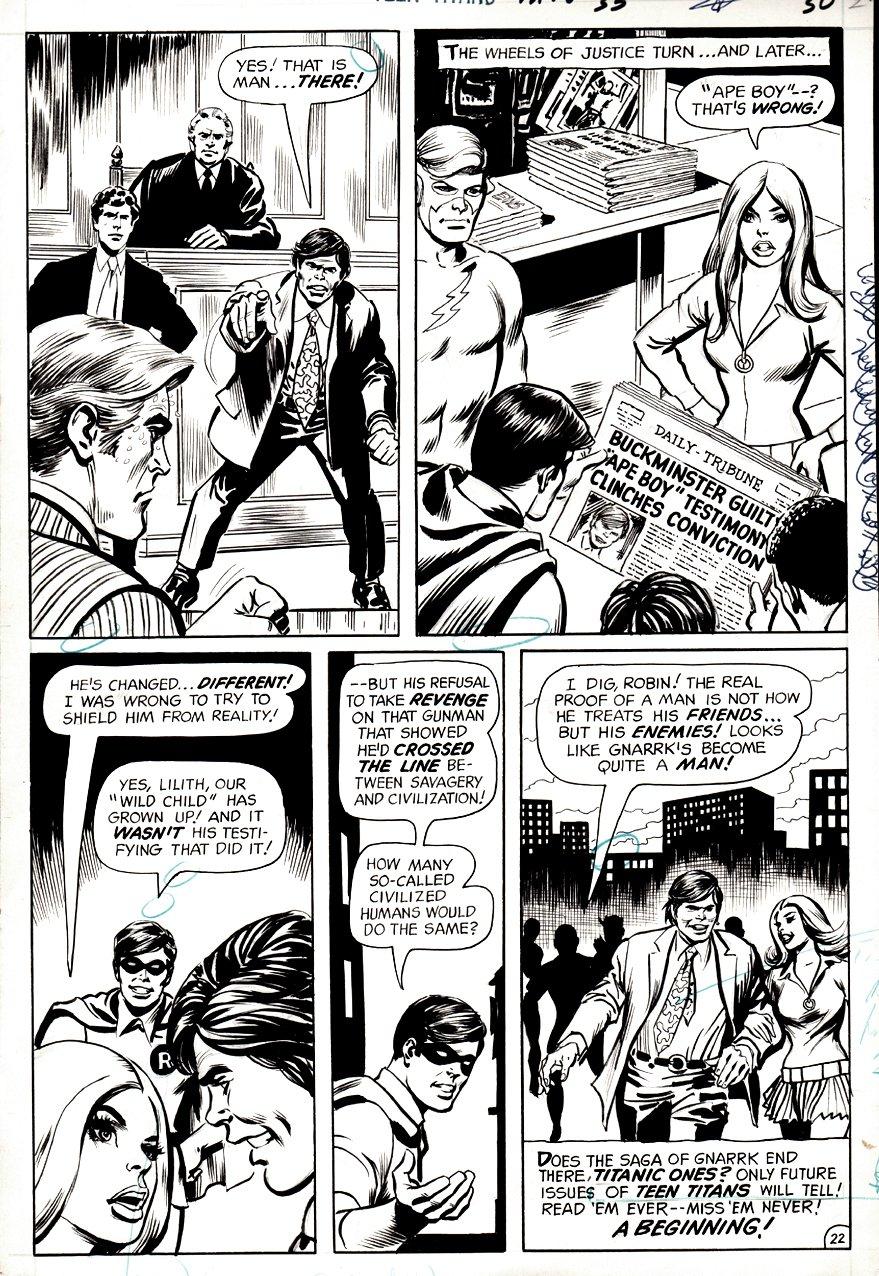 Teen Titans #33 p 22 (1970)