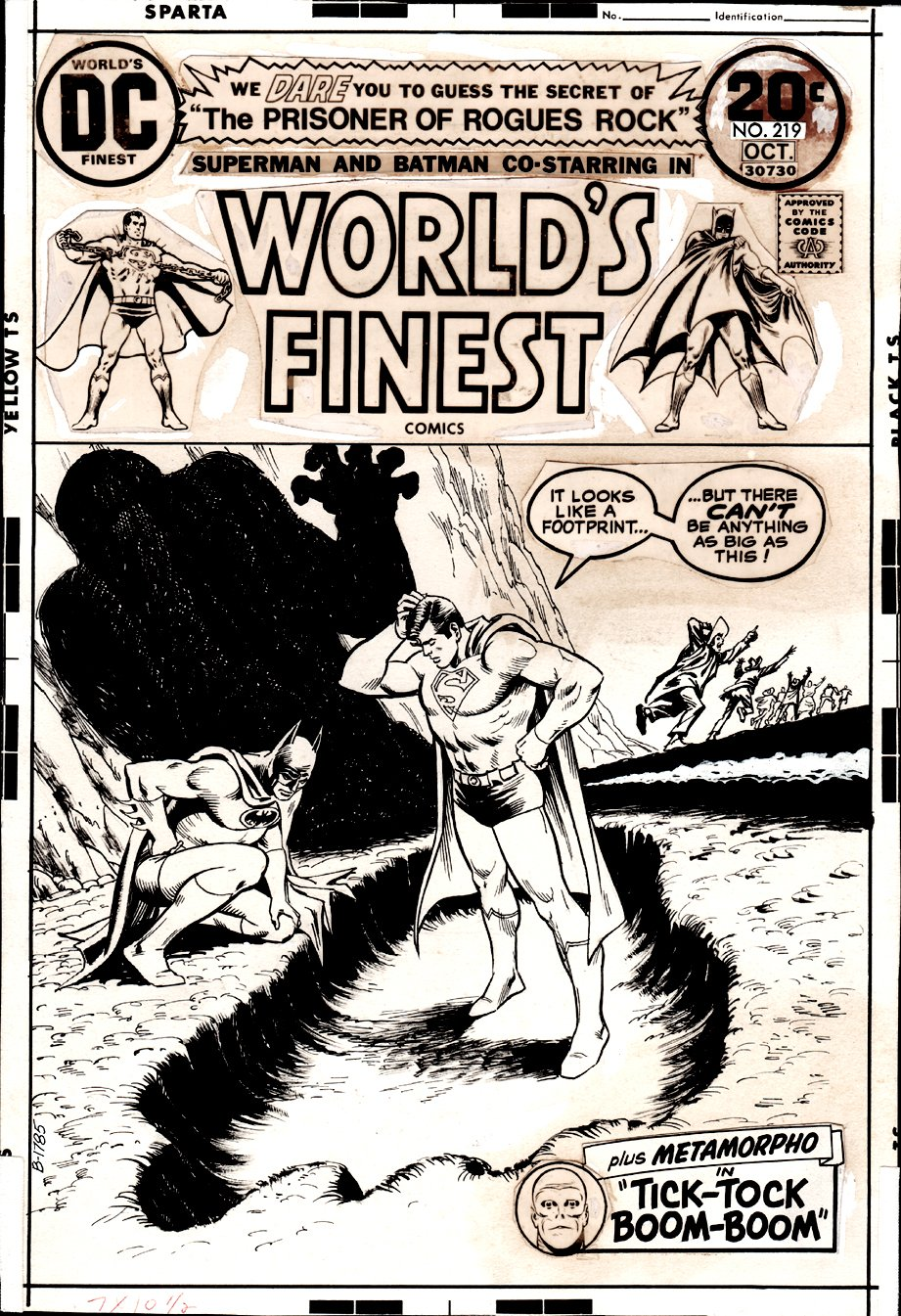 World's Finest Comics #219 Cover (1973)