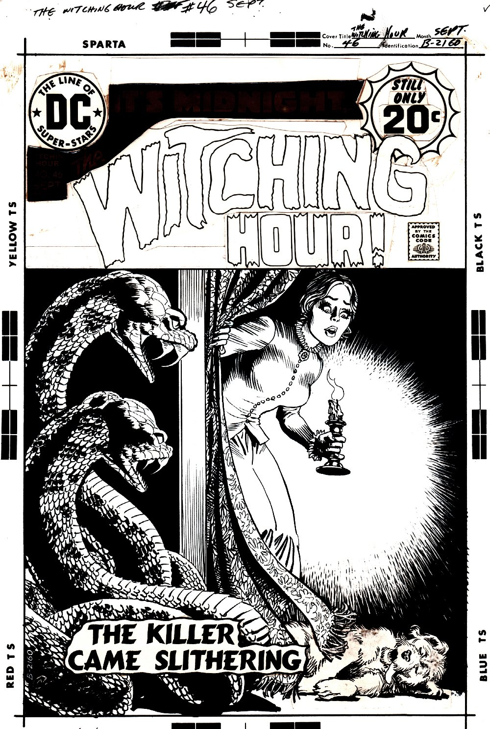 Witching Hour #46 Cover (1974)