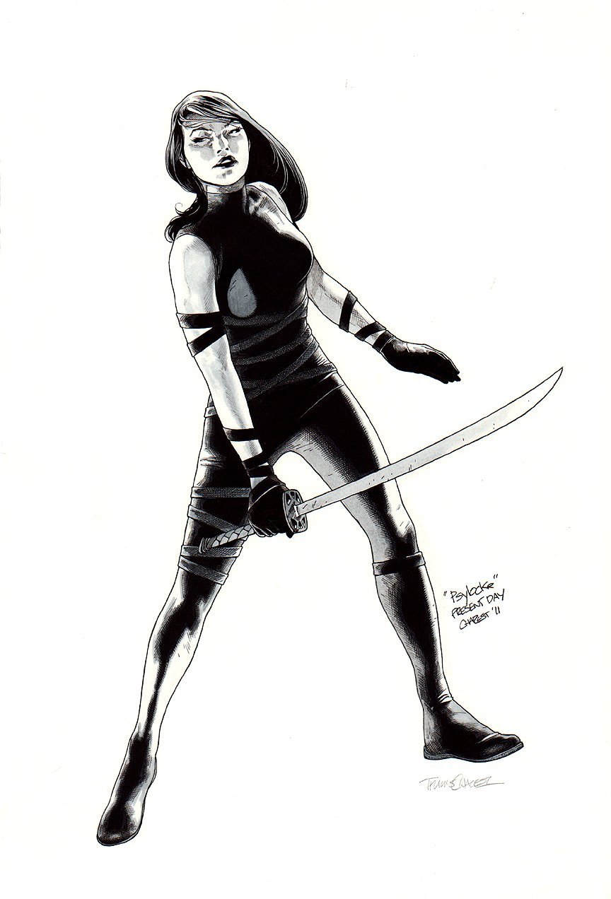 Psylocke - Incredible Pinup!