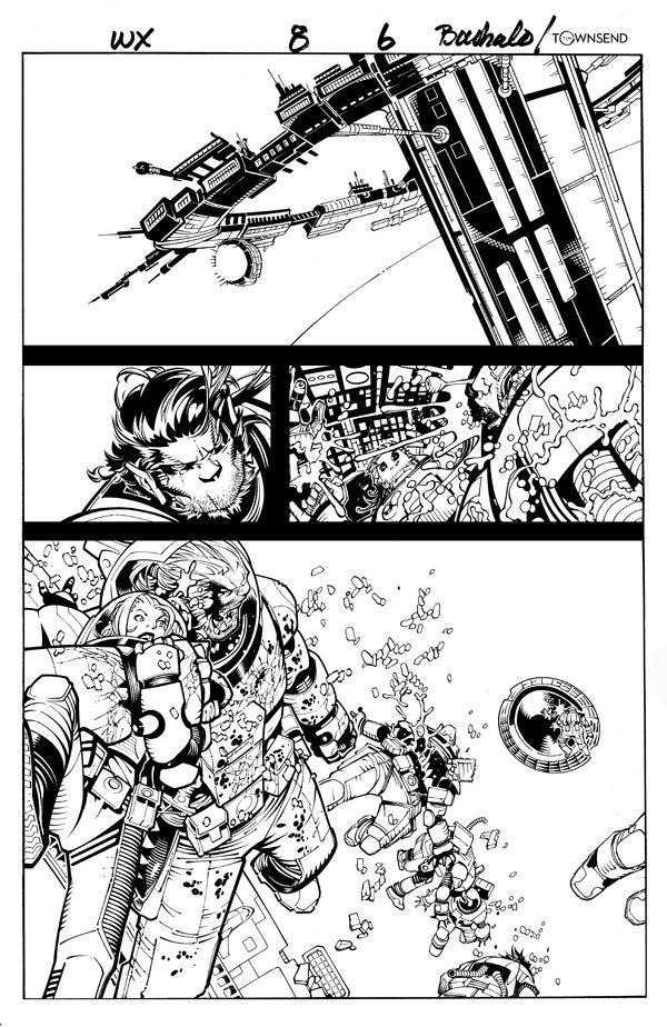 Wolverine & the X-Men #8 p 6 SPLASH