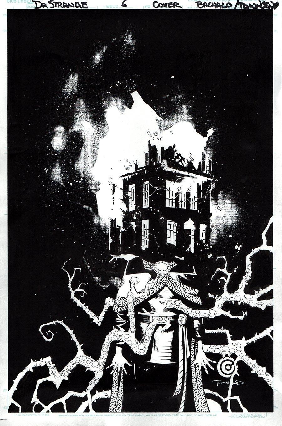 Doctor Strange #6 Cover (2015)