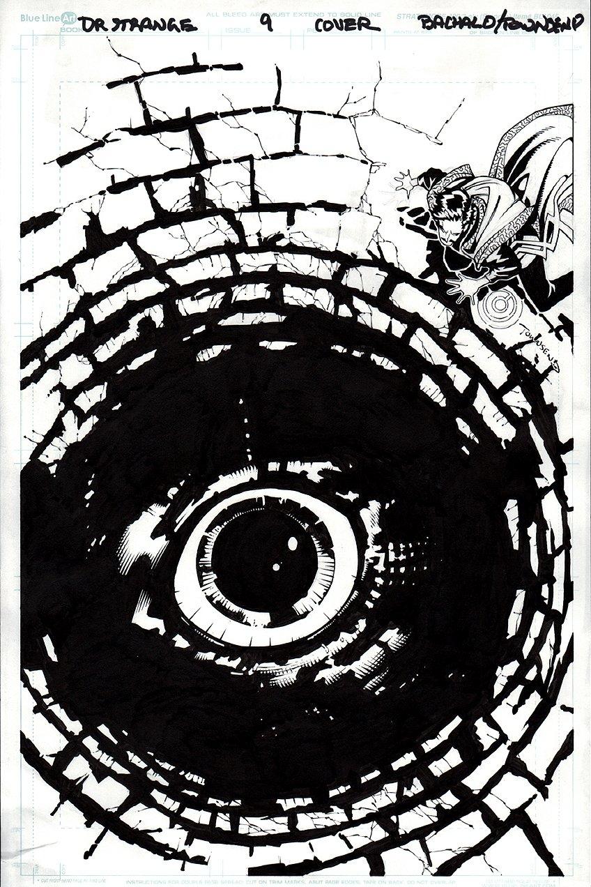 Doctor Strange #9 Cover (2016)