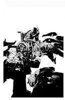 Wolverine & the X-Men #8 Cover (2012) Comic Art
