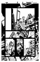 Wolverine & the X-Men Issue 8 Page 3 Comic Art