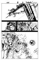 Wolverine & the X-Men Issue 8 Page 6 SPLASH Comic Art