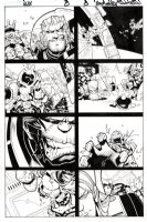 Wolverine & the X-Men Issue 8 Page 8 Comic Art