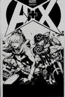 A+X #2 Cover (2012) Comic Art