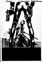 Gambit #1 cover (2012) Comic Art