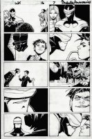 Wolverine & the X-Men #16 p 7 (2012) Comic Art