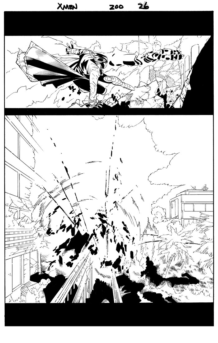 X-Men #200 p 26 (2007)