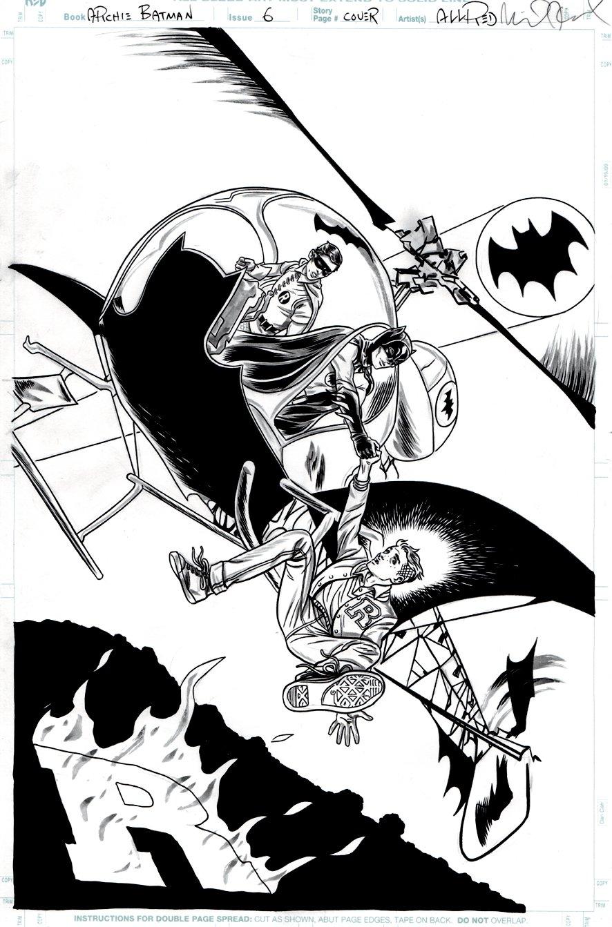 Archie Meets Batman '66 #6 Cover (2018)