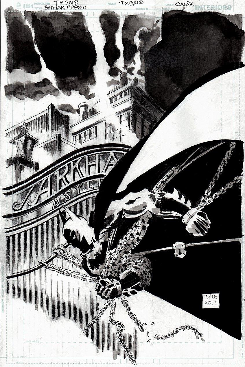 Batman #17 Cover (2017)