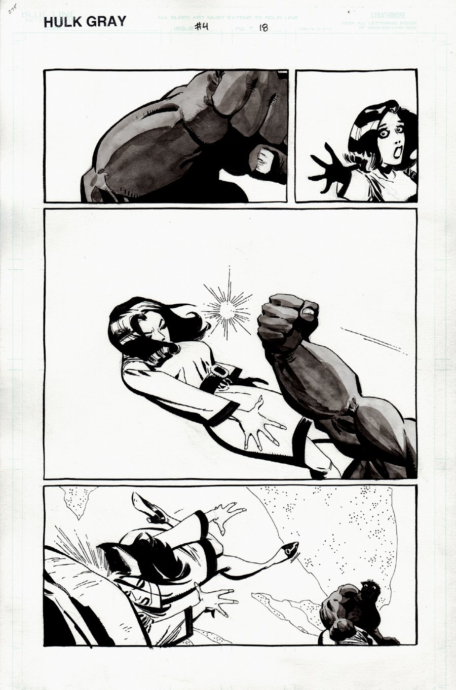 Hulk: Gray #4 p 18 (2003)